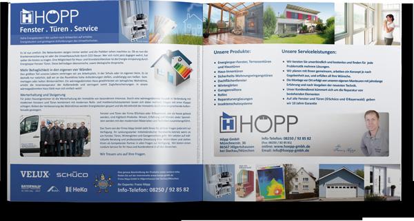Bild einer Broschüre von Höpp